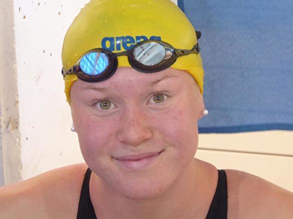 Hannah Brunzell gick till semifinalen som tvåa på 200m bröstsim i morse