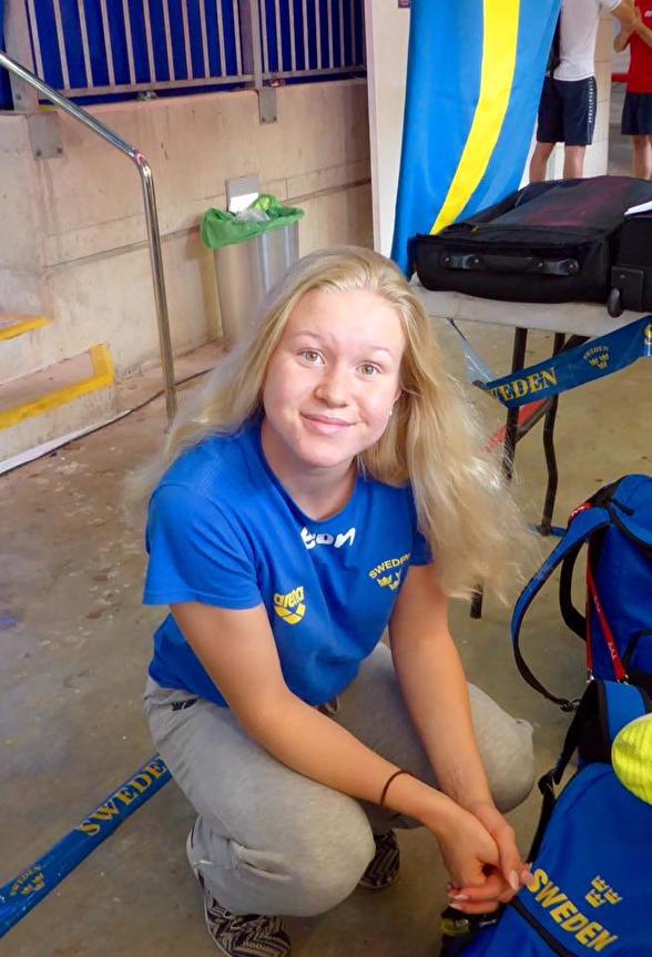 EJM-brons till Hannah Brunzell - på 200m bröstsim