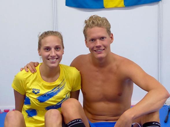 Dagens semifinalister - Jessica Eriksson och Adam Paulsson