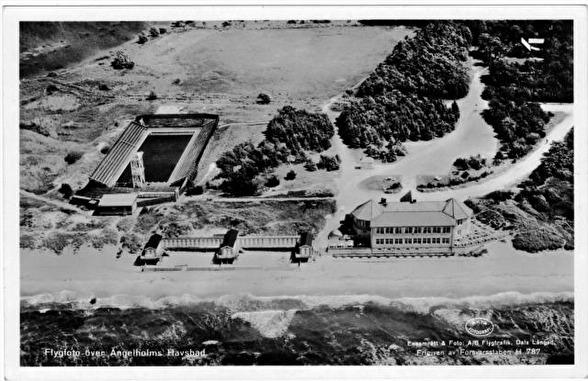 Ängelholm - Simstadion 1950