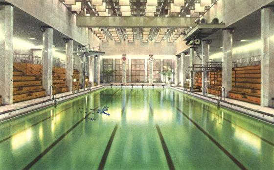 Sportpalatset i Stockholm stod klart 1934 och var landets första inomhus-50ia. Läs historien om denna fantastiska anläggning - på vår sida om simhistoria.