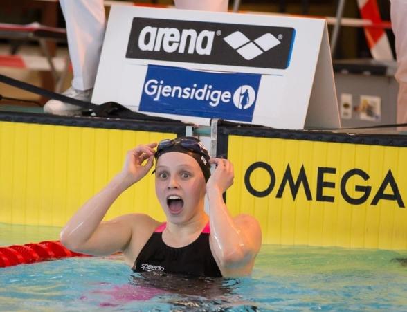 Eline Vik, vinner 400 medley