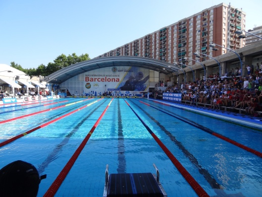 Deltävling 2 av 3 i Mare Nostrum cirkusen simmas i Barcelona onsdag/torsdag.