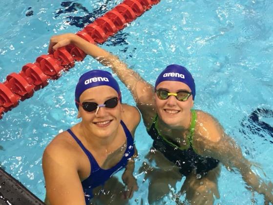 Semifinalist Malene Rypestøl og Astrid Julie Halvorsen. FOTO: NSF.