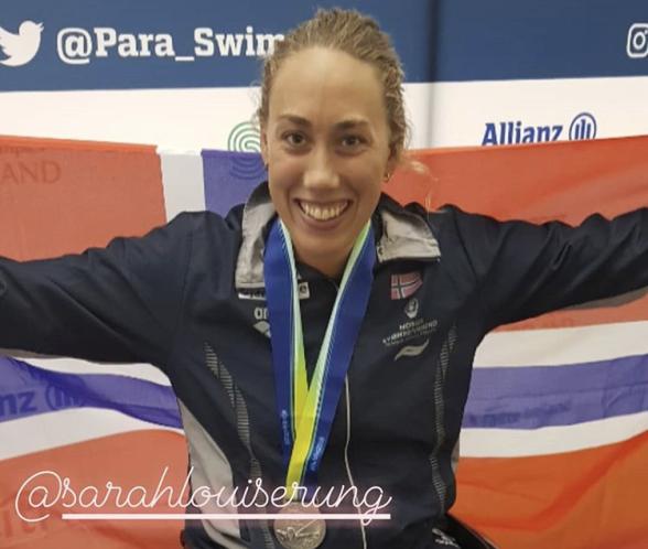 Sarah Louise Rung. FOTO: Paraswimming/instagram
