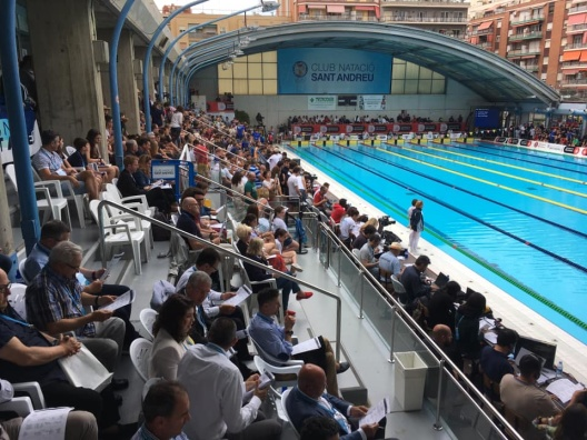 Mare Nostrum arenan i Barcelona  (photo-cred Mare Nostrum Barcelona)