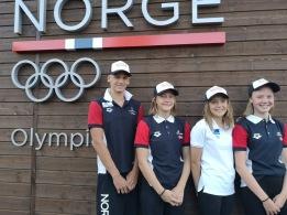 Svømmerne som skal representere Norge under EYOF i Baku