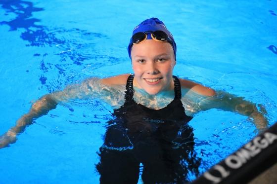 Ingeborg Vassbakk Løyning. FOTO: North Sea Swim Meet