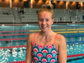 Hannah Brunzell - Västeråssimmerska som idag åker till USA för att träna - foto: Västerås Simsällskap