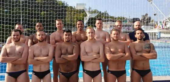 Järfälla Simsällskaps pololag vid EU Nations Men Clubs 2019  - foto: Järfälla Simsällskap