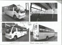 Den andra bussen under tillverkning