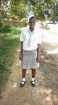Neema juma - Undergoing a year long education in catering, food and nutriton.