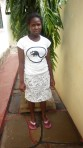 Betsy Okal - Studying for a Degree in Community developmentat at Pwani University, to work as a social worker.