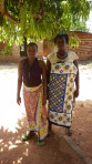 Kamwenda charo and Zainabu Charo - Education in tailoring
