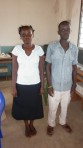 Robinson Wanjala - Graduated as a P1 teacher. - & Elizabeth Ouma - Studying for a Bachelor in Science.