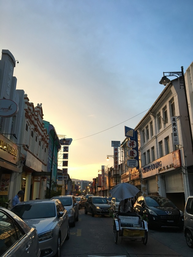 Lebuh Campbell in George Town, Penang