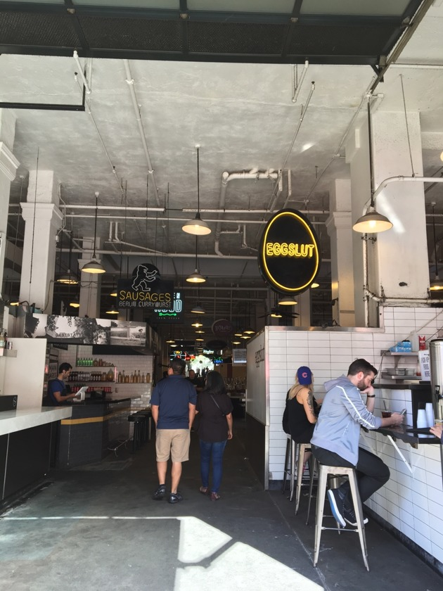 Inside GCM and Eggslut's instagram famous sign