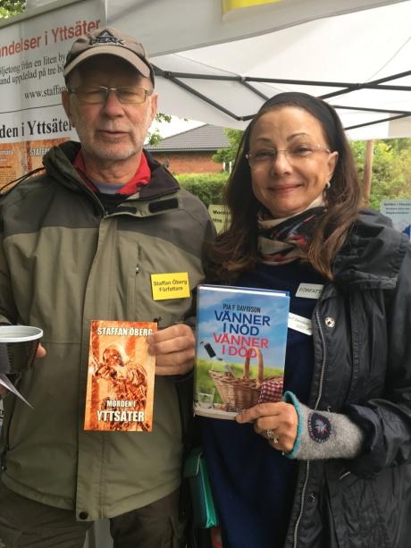 Staffan Öberg och jag på Skälby Gårds höstmarknad-17
