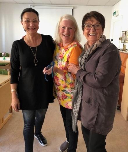 Planerignsmöte med Lill Viljesten och Birgitta Andersson Backlund, inför våra tre stora kursevent.