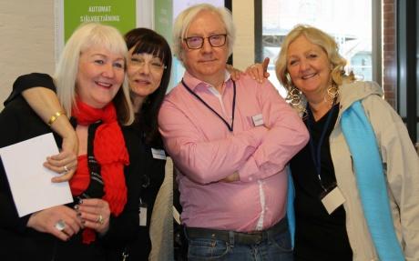 Med Carina Aynsley, Per Berg och Britta Ivarsson Possnert på Litteraturkryssningen den 7-8 april-19.