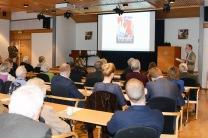 Bokpresentation på Voksenåsen den den 27 mars 2017. Bild Poul Heisholt.