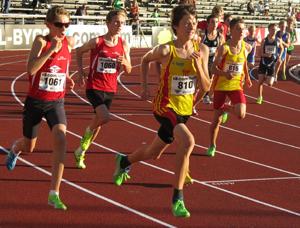 800 meter DN-Galan Youth 2013