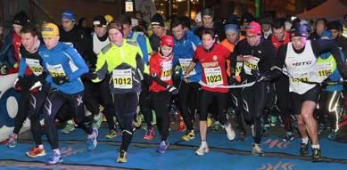 Nattstart i Tromsö Midnight Marathon. Klicka för större bild!