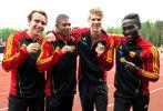 SM-GULD P19 4x100! Henrik-Isak-Douglas-Amadou GRATTIS!