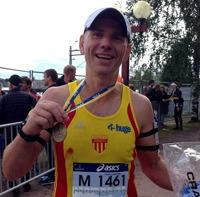 Medalj bärgad i premiärloppet