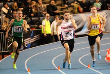 400 meter B-final
