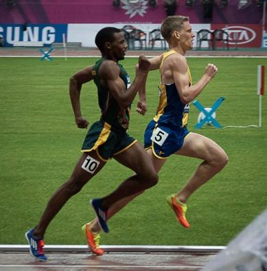 Staffan vann försöket på 1500 meter! Foto: Jan Bäck