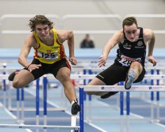 Fredrik Kihlblom 60 meter häck final