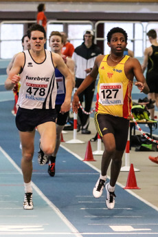 Iyuel Ayele 400 meter försök