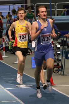 Marcus Häggh 1500 meter försök