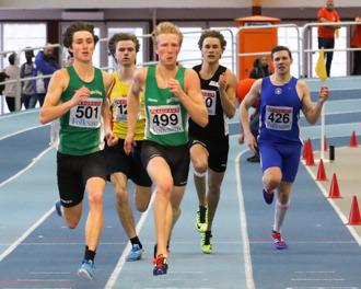 Christopher Halldén 400 meter final