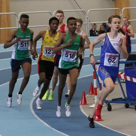 Iyuel Ayele 1500 meter final