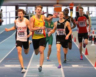Ludvig Hillenfjärd 400 meter final
