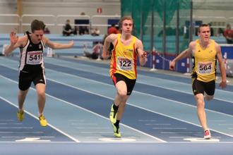 Peter Heen 60 meter semifinal