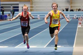 Peter Heen 60 meter final