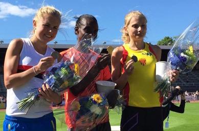 Silver Charlotte Karlsson - Guld Isabellah Andersson - Brons Hanna Lindholm