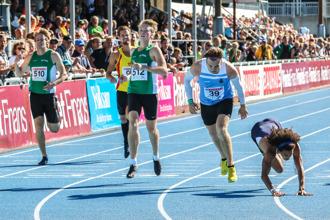 Final 400 meter