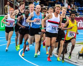 Final 5000 meter
