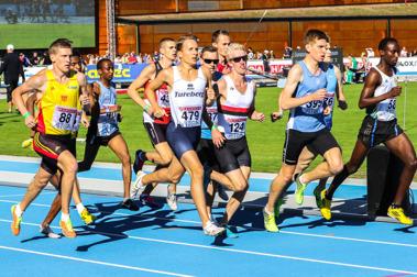 Final 1500 meter