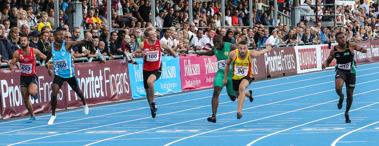 Final 100 meter