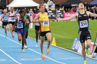 A-final 5000 meter