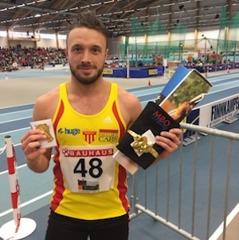 Tom Kling-Baptiste Guld 60 m + Brons 200 m