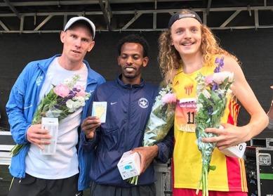 Medaljtrion Olle, Robel och John Foto: Anders Kingstedt