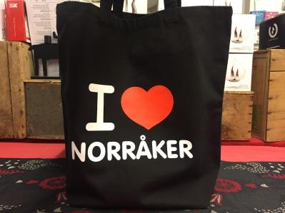 Tygkasse I love Norråker