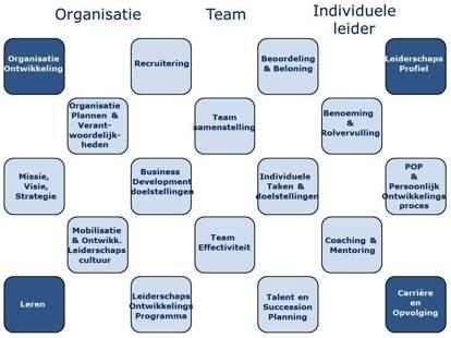Leiderschapsontwikkeling in een organisatorische context