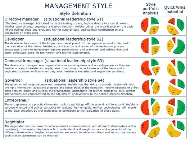 Style Portfolio Analysis Management Style